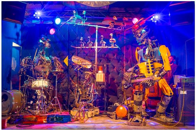 One Machine Love Band SILBERSALZ 2018