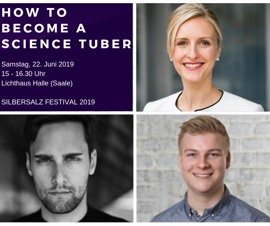 How to become a Science Tuber | Event at SILBERSALZ Festival 2019