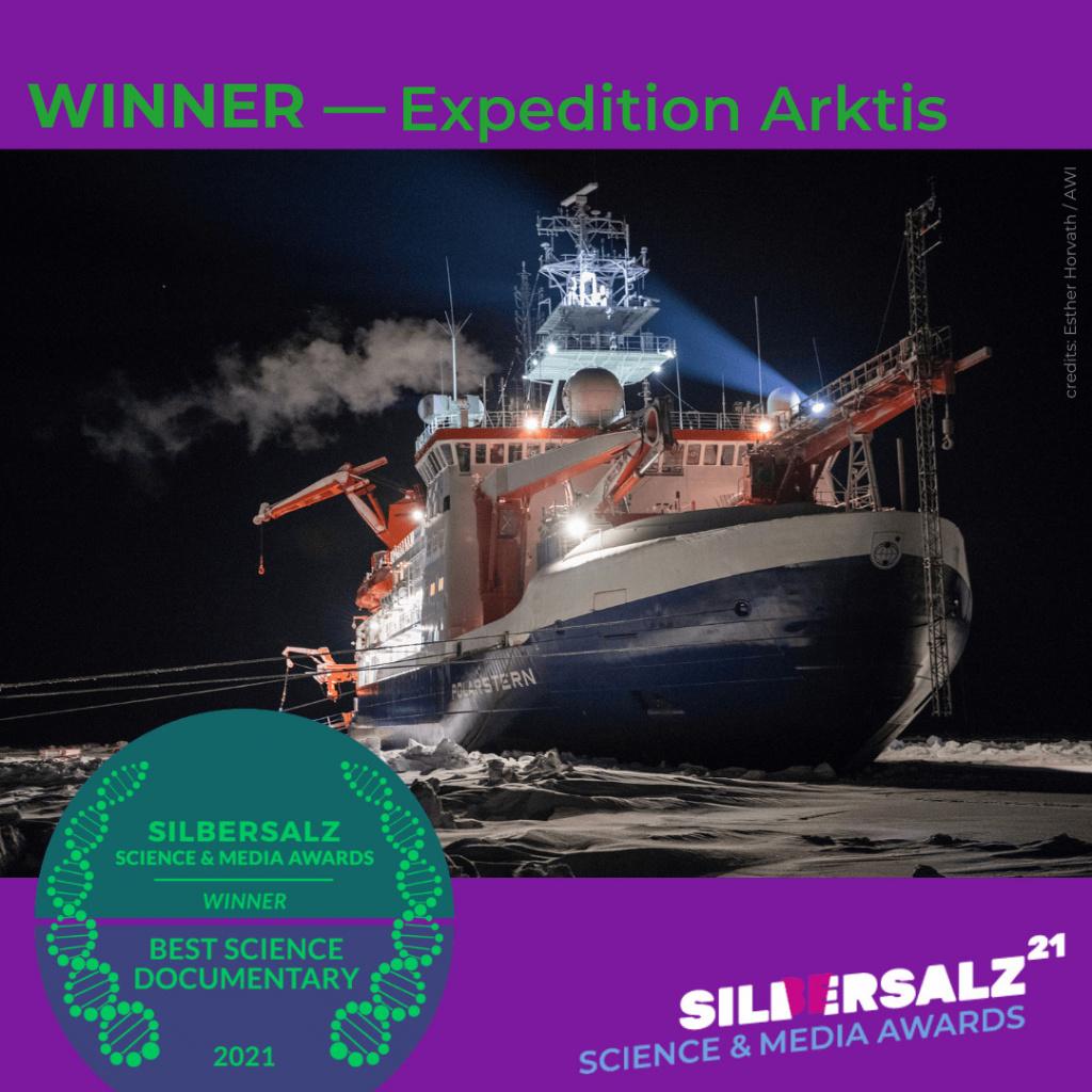 Expedition Arktis –Winner of SILBERSALZ Science & Media Award