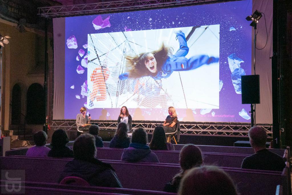 Gespräch mit Dr. Suzanna Randall und Prof. Dr. Antje Boetius | SILBERSALZ Festival 2021 |credit: Joachim Blobel