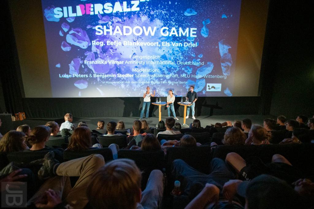 "Filmgespräch ""Shadow Game""| SILBERSALZ Festival 2021 | credit: Joachim Blobel"