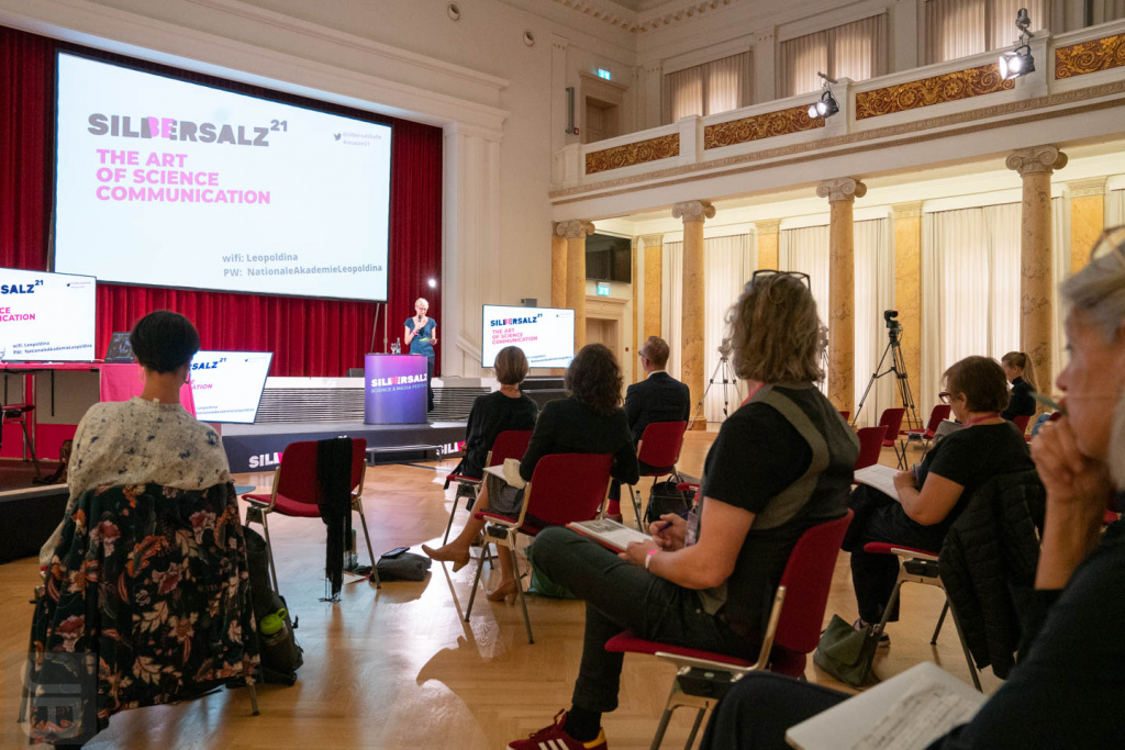 Festsaal der Leopoldina | SILBERSALZ Conference 2021 |credit: Joachim Blobel