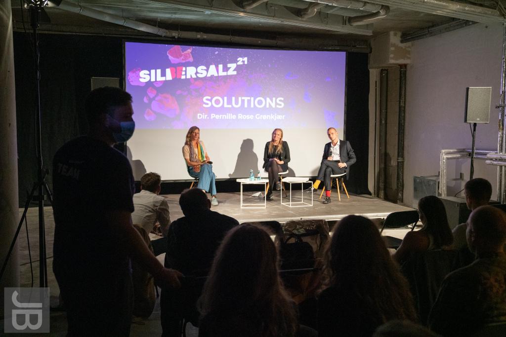"Filmgespräch zu ""Solutions"" | SILBERSALZ Festival 2021 |credit: Joachim Blobel"