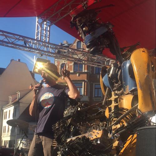 SILBERSALZ Festival Roboter Band