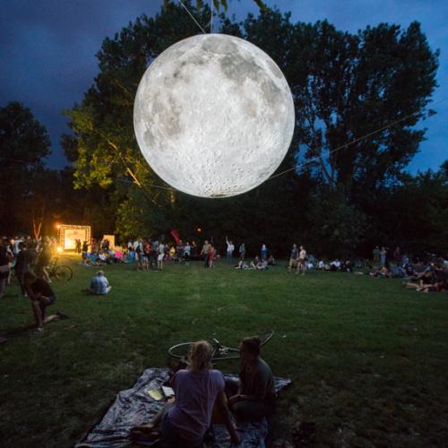 Museum of the Moon | SILBERSALZ Festival 2019 | credit: Joachim Blobel
