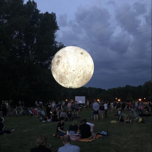 Museum of the Moon on Ziegelwiese, Halle (Saale)   credits: Jennifer Prietzel