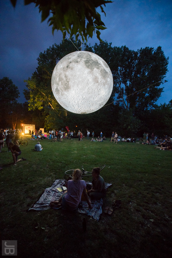 Museum of the Moon | SILBERSALZ Festival 2019 | credit: Joachim Blobel
