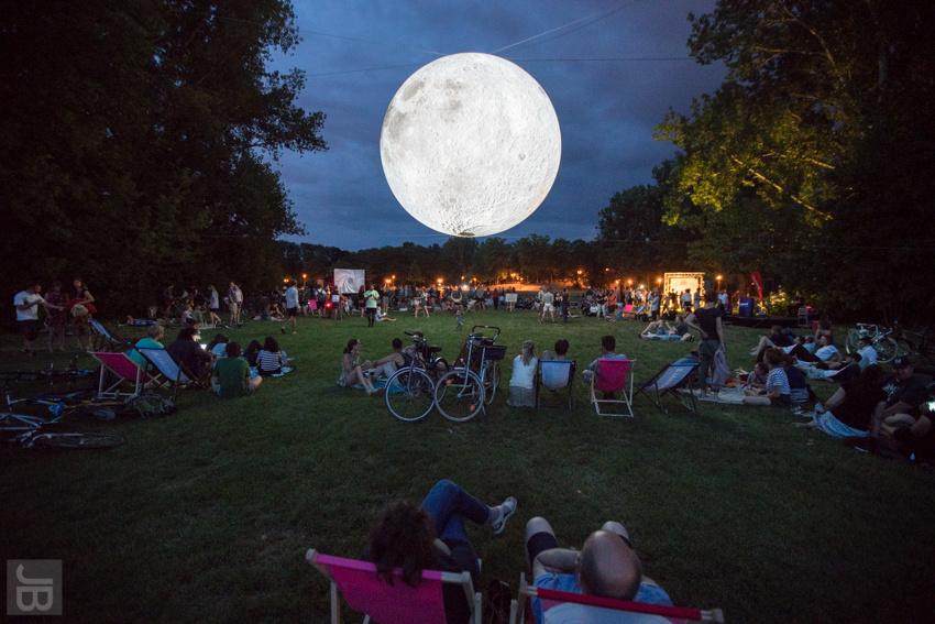 SILBERSALZ Festival 2019 - Museum of the Moon (credit. Joachim Blobel)