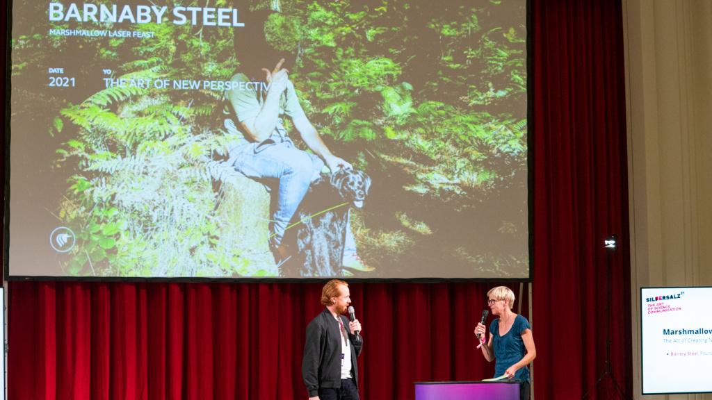 SILBERSALZ Conference I Marshmallow Laserfeast I credit: Joachim Blobel