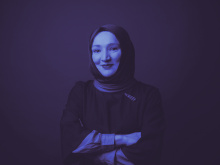Kübra Gümüşay | Speaker at SILBERSALZ 2021 (credit: Paula Winkler)