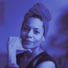 Dr. Emilia Roig | Speaker at SILBERSALZ 2021 (credit: Mohamed Badarne)