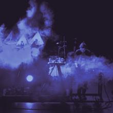 Moritz Simon Geist mit Musikrobotern, Nemo Biennale 2020 © Foto Quentin Chevrier